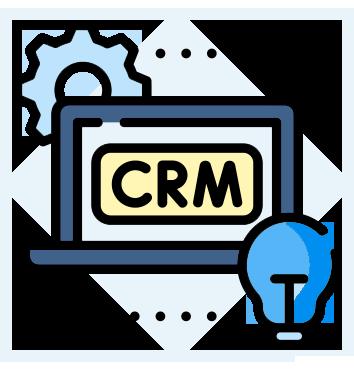 custom crm system - blog material